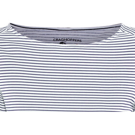 Craghoppers NosiLife Erin II Long Sleeved Top Dame blue navy stripe